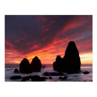 Rodeo Beach Sunset... Postcard
