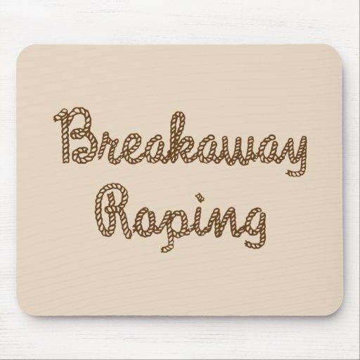 Rodeo Breakaway Roping Mouse Pads