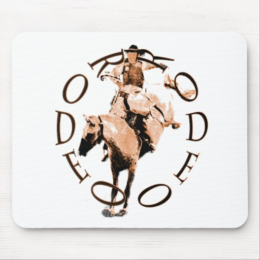 Rodeo Bronc Mouse Pads