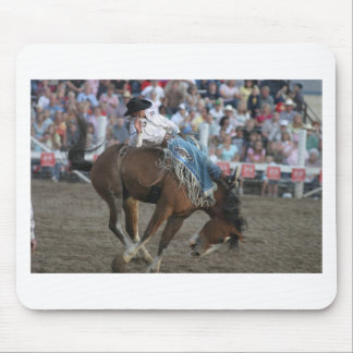 Rodeo Bucking Bronco Mouse Pad