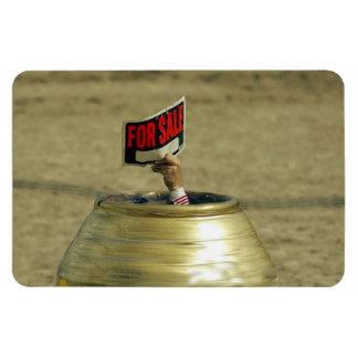 Rodeo - Bull Fighter - For Sale Rectangular Photo Magnet
