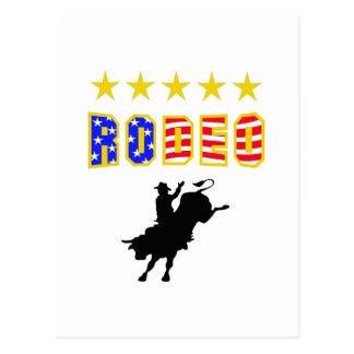 RODEO BULL RIDER POST CARDS