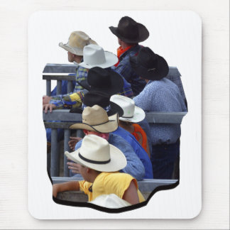 Rodeo - Bull Watchers Mouse Pad