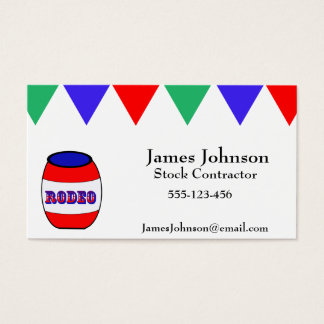 Rodeo Business Cards