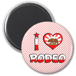 Rodeo, CA Fridge Magnet
