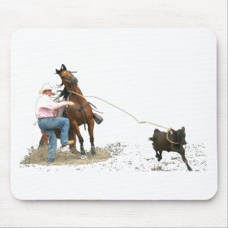 Rodeo - Calf Tying; Calf Roping Mousepad
