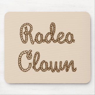 Rodeo Clown Mouse Pads