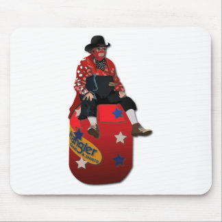 Rodeo Clowns Mouse Pad