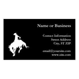 Rodeo Cowboy Business Cards