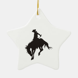 Rodeo Cowboy Christmas Ornament