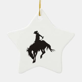 Rodeo Cowboy Christmas Ornament