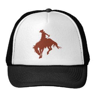Rodeo Cowboy in Sienna Hat