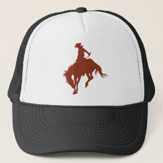 Rodeo Cowboy in Sienna Trucker Hat