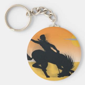 Rodeo Cowboy Key Chains
