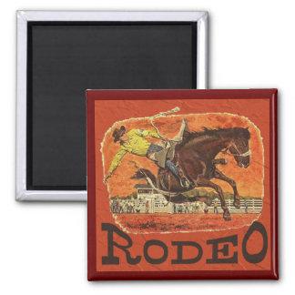 Rodeo Cowboy Fridge Magnet