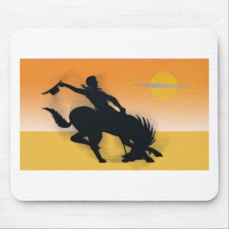 Rodeo Cowboy Mousepads