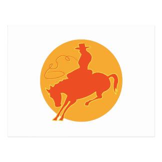 Rodeo Cowboy Post Card