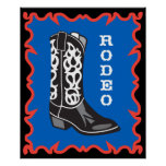 Rodeo Cowboy Print