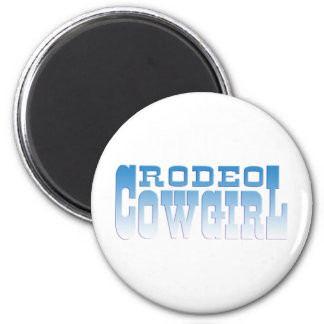 RODEO COWGIRL REFRIGERATOR MAGNETS