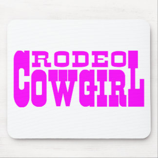RODEO COWGIRL MOUSEPAD