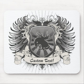 Rodeo Crest Mousepad
