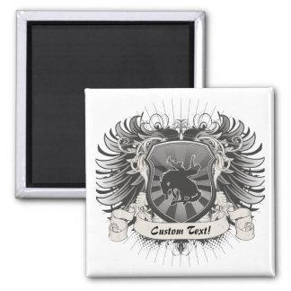 Rodeo Crest Square Magnet