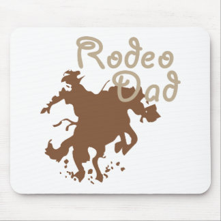 Rodeo Dad Mouse Pads