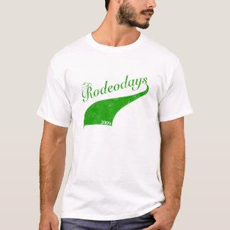 Rodeo Days '09 Green T-Shirt