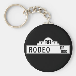 Rodeo Drive, Los Angeles, CA Street Sign Key Chain