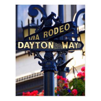 Rodeo Drive Postcard