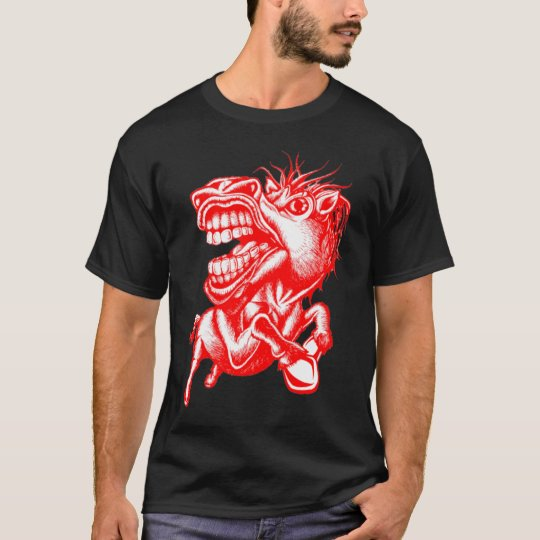 Rodeo Horse Red T-Shirt