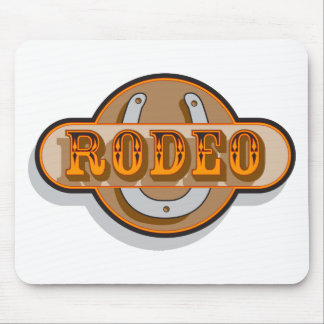 Rodeo Horseshoe Mouse Pads