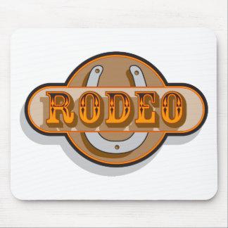 Rodeo Horseshoe Mouse Pad