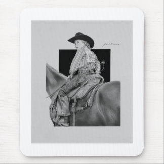 Rodeo Jr. Girl Rider Mouse Pad