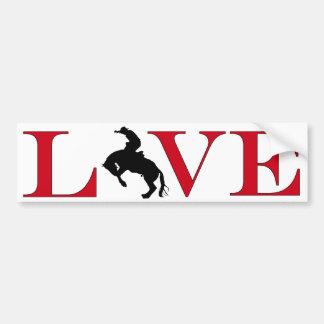 Rodeo Lover Bumpersticker Bumper Sticker