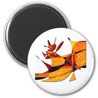 Rodeo 6 Cm Round Magnet