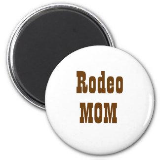 Rodeo, MOM 6 Cm Round Magnet