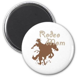 Rodeo Mom 6 Cm Round Magnet