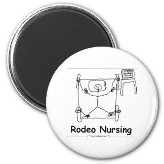 Rodeo Nursing Fridge Magnet