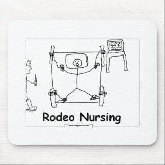 Rodeo Nursing Mouse Pad