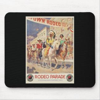 Rodeo Parade Montana Wyoming Mouse Pads