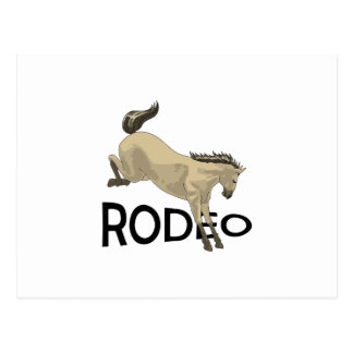 RODEO POSTCARD