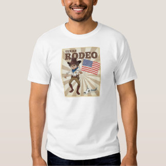Rodeo poster t-shirts