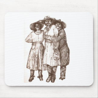 Rodeo Queens Mouse Pad