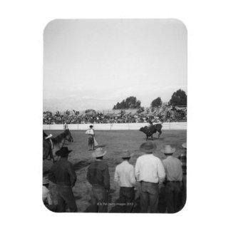 Rodeo Rectangular Photo Magnet