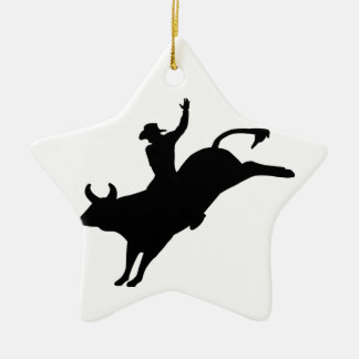 Rodeo Rider Christmas Ornament