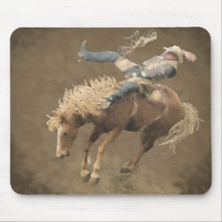 Rodeo Rider Mousepad