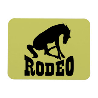 Rodeo Silhouette Magnets