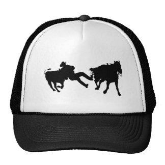 Rodeo - Steer Rasslin' - Steer Wrestling Cap