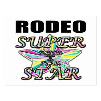 Rodeo Superstar Postcard